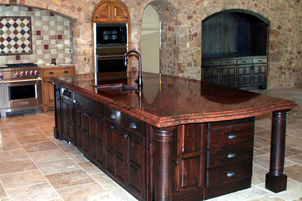Red Dragon Granite Stone : Accent granite marble countertops